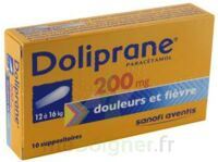 Doliprane 200 Mg Suppositoires 2plq/5 (10) à RUMILLY