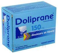 Doliprane 150 Mg Poudre Pour Solution Buvable En Sachet-dose B/12 à RUMILLY