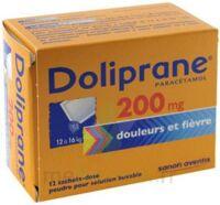 Doliprane 200 Mg Poudre Pour Solution Buvable En Sachet-dose B/12 à RUMILLY