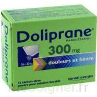 Doliprane 300 Mg Poudre Pour Solution Buvable En Sachet-dose B/12 à RUMILLY