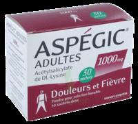 ASPEGIC ADULTES 1000 mg, poudre pour solution buvable en sachet-dose 30 à RUMILLY