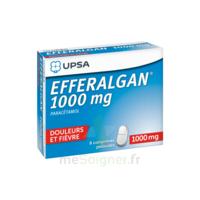 Efferalgan 1000 Mg Comprimés Pelliculés Plq/8 à RUMILLY