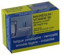 Magnesium/vitamine B6 Biogaran Conseil 48 Mg/5 Mg, Comprimé Pelliculé à RUMILLY