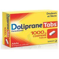 DOLIPRANETABS 1000 mg Comprimés pelliculés Plq/8 à RUMILLY