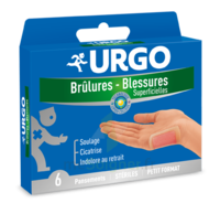 URGO BRULURES-BLESSURES PETIT FORMAT x 6 à RUMILLY