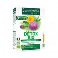 Santarome Bio Détox Solution buvable 20 Ampoules/10ml à RUMILLY