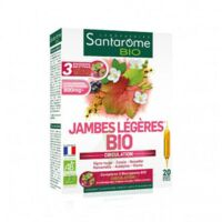 Santarome Bio Jambes Légères Solution Buvable 20 Ampoules/10ml à RUMILLY
