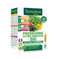 Santarome Bio Programme ultra minceur Solution buvable 30 Ampoules/10ml à RUMILLY
