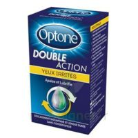 OPTONE DOUBLE ACTION Solution oculaire yeux irrités Fl/10ml à RUMILLY