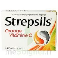 STREPSILS ORANGE VITAMINE C, pastille à RUMILLY
