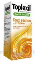 TOPLEXIL 0,33 mg/ml sans sucre solution buvable 150ml à RUMILLY