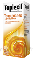 TOPLEXIL 0,33 mg/ml, sirop 150ml à RUMILLY