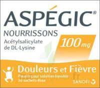 Aspegic Nourrissons 100 Mg, Poudre Pour Solution Buvable En Sachet-dose à RUMILLY