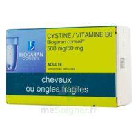 Cystine/vitamine B6 Biogaran Conseil 500 Mg/50 Mg Cpr Pell Plq/120 à RUMILLY
