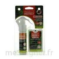 Insect Protect Spray Peau + Spray VÊtements Fl/18ml+fl/50ml à RUMILLY