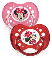 Dodie Disney Sucettes Silicone +18 Mois Minnie Duo à RUMILLY