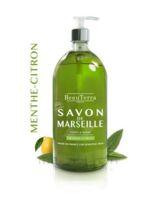 Beauterra - Savon De Marseille Liquide - Menthe/citron 300ml