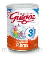 Guigoz 3 Lait De Croissance Fibres  800g