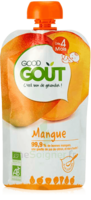 Good Goût Alimentation infantile mangue Gourde/120g à RUMILLY
