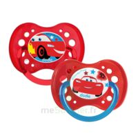 Dodie Disney Sucettes Silicone +18 Mois Cars Duo à RUMILLY
