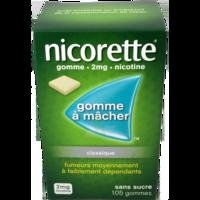 Nicorette 2 Mg Gom à Mâcher Médic Sans Sucre Menthe Fraîche Plq/105gom à RUMILLY