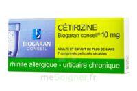 Cetirizine Biogaran Conseil 10 Mg, Comprimé Pelliculé Sécable à RUMILLY