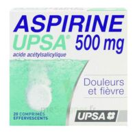ASPIRINE UPSA 500 mg, comprimé effervescent à RUMILLY