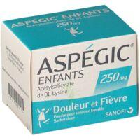 ASPEGIC ENFANTS 250, poudre pour solution buvable en sachet-dose à RUMILLY