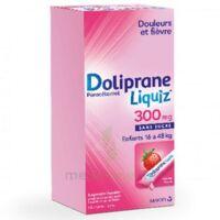 Dolipraneliquiz 300 Mg Suspension Buvable En Sachet Sans Sucre édulcorée Au Maltitol Liquide Et Au Sorbitol B/12 à RUMILLY