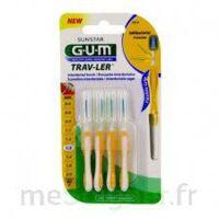 Gum Trav - Ler, 1,3 Mm, Manche Jaune , Blister 4 à RUMILLY