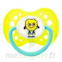 Dodie Sucette Anatomique Silicone 18m+ Fluo à RUMILLY