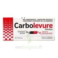 Carbolevure Gélules Adulte Plq/30 à RUMILLY