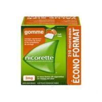 Nicorette 2 Mg Gomme à Mâcher Médicamenteuse Sans Sucre Fruits Plq/210 à RUMILLY