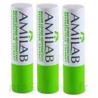 Amilab Baume labial réhydratant et calmant lot de 3 à RUMILLY