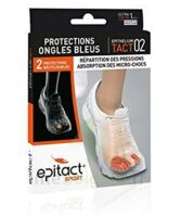 EPITACT SPORT PROTECTIONS ONGLES BLEUS EPITHELIUMTACT 02, Xlarge à RUMILLY