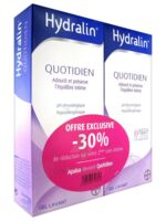 Hydralin Quotidien Gel Lavant Usage Intime 2*200ml à RUMILLY