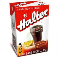 Halter Bonbon Sans Sucre Cola B/40g à RUMILLY