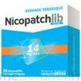 NICOPATCHLIB 14 mg/24 h Dispositifs transdermiques B/28 à RUMILLY