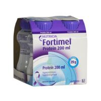 Fortimel Protein Sensation Nutriment neutre 4 Bouteilles/125ml à RUMILLY