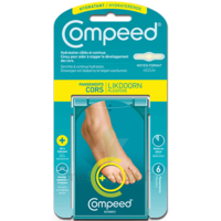 Compeed Soin Du Pied Pansements Hydratant Cors B/6 à RUMILLY