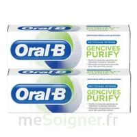 Oral B Gencives Purify Dentifrice 2*t/75ml à RUMILLY