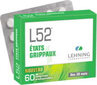 Lehning L52 Comprimés Orodispersibles Plq Pvc/pvdc/alu/60 à RUMILLY