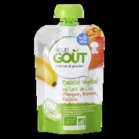 Good Goût Alimentation infantile brassé lait de coco mangue banane passion Gourde/90g à RUMILLY