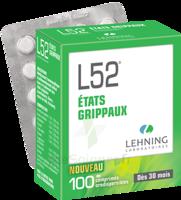 Lehning L52 Comprimés Orodispersibles Plq Pvc/pvdc/alu/100 à RUMILLY