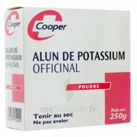COOPER ALUN POTASSIUM Poudre B/250g à RUMILLY