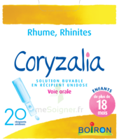 Boiron Coryzalia Solution Buvable Unidose B/20 à RUMILLY