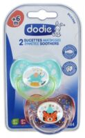 Dodie Sucette Silicone +6mois Duo Cirque à RUMILLY