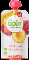 Good Goût Alimentation infantile poire pêche Gourde/120g à RUMILLY