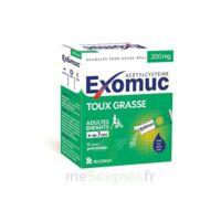 EXOMUC 200 mg, granulés pour usage oral en sachet 15 Sachets/2g à RUMILLY